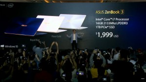 Asus Zenbook 3, un laptop de top
