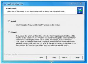 Cum sa protejezi cu parola un stick USB - TrueCrypt - selectare optiune portabil