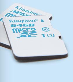 Dispozitive miniatura pentru stocarea datelor - microSD Action Camera UHS-I U3 Card