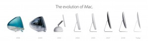 Sisteme AiO produse de Apple - Evolutia iMac